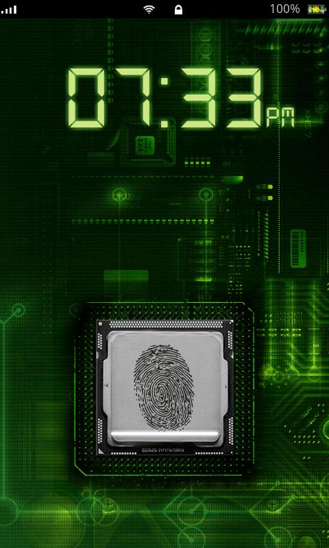Fingerprint Scanner Lock Prank - screenshot