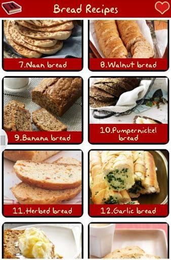 麵包食譜免費 !