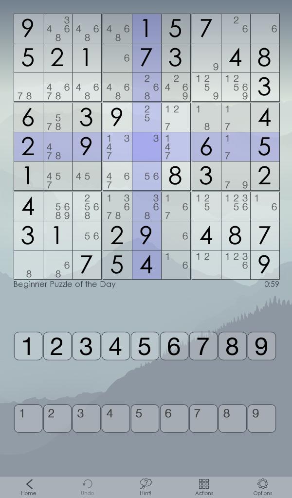 Sudoku Of The Day screenshot #9