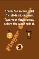 Screenshot of Finger Cutter
