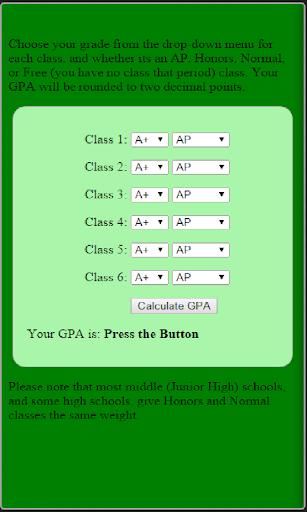 Pocket GPA