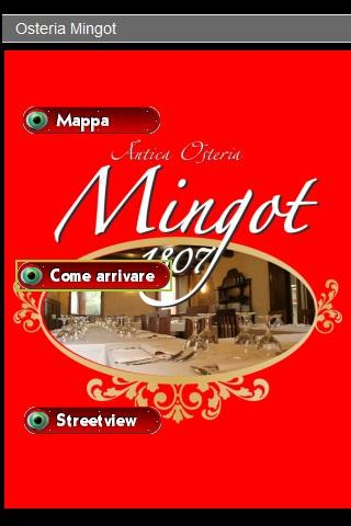 Osteria Mingot - screenshot