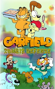 Garfield Zombie Defense - screenshot thumbnail