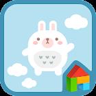Rabbit 's balloon travel Dodol icon