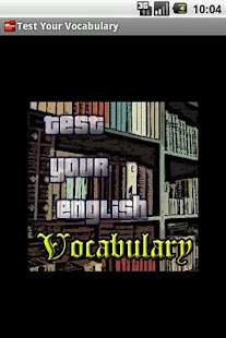 Test Your English Vocabulary - screenshot thumbnail