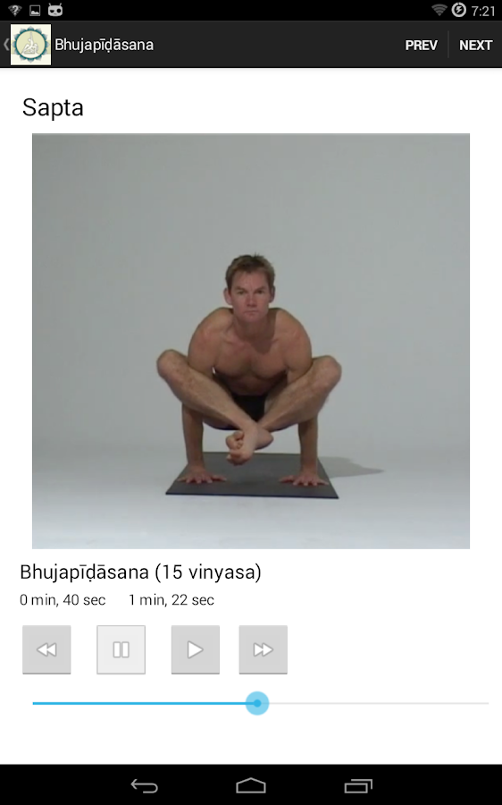 John Scott Yoga- screenshot