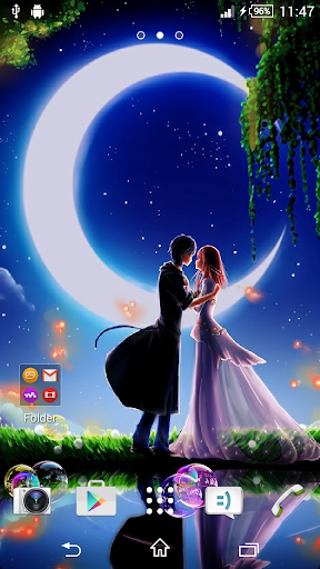 Lovers Live Wallpaper