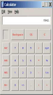 Windows Calculator - screenshot thumbnail