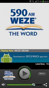 590 WEZE AM - screenshot thumbnail
