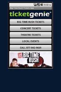 Big Time Rush Tickets - screenshot thumbnail