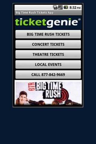 Big Time Rush Tickets - screenshot