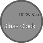 Glass Clock - UCCW Skin