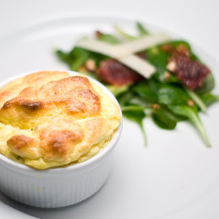 Creamed Corn and Sharp Cheddar Souffle