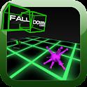 Falldown Cubed logo