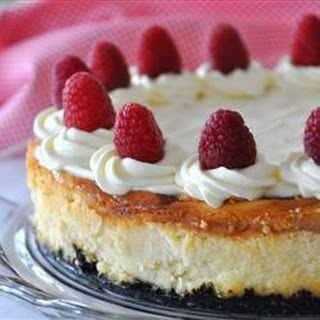 Raspberry and White Chocolate Cheesecake Recipe