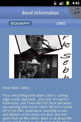 Mark Sebby - screenshot