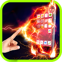 Fire Screen Colorful Prank mobile app icon