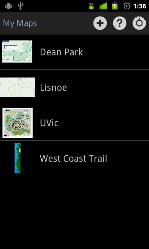 My Maps (Ad Supported)- screenshot