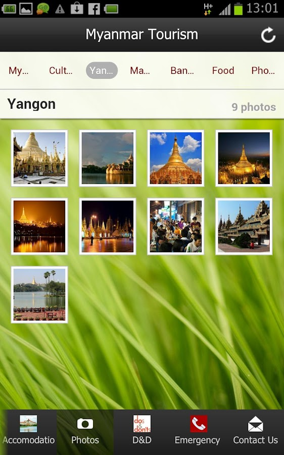 Myanmar Tourism ( Burma )- screenshot