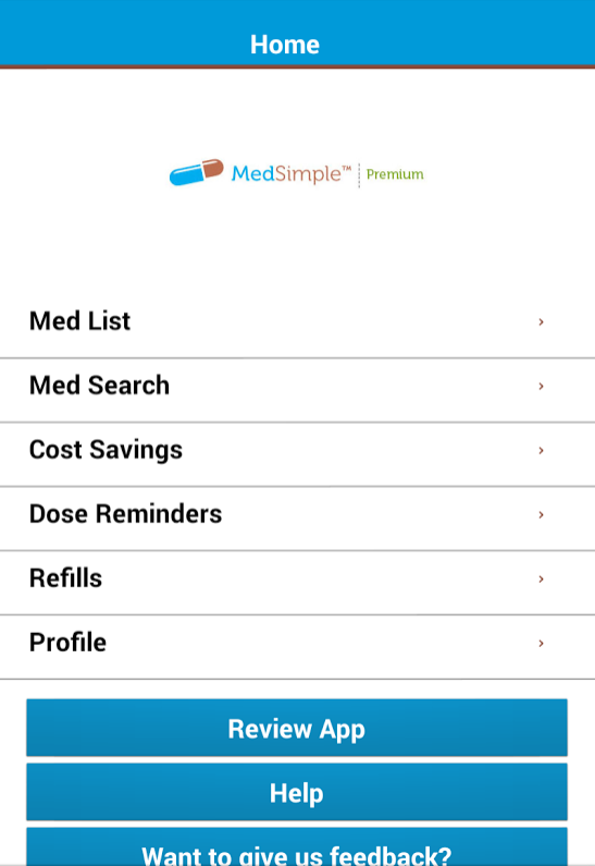 MedSimple- screenshot