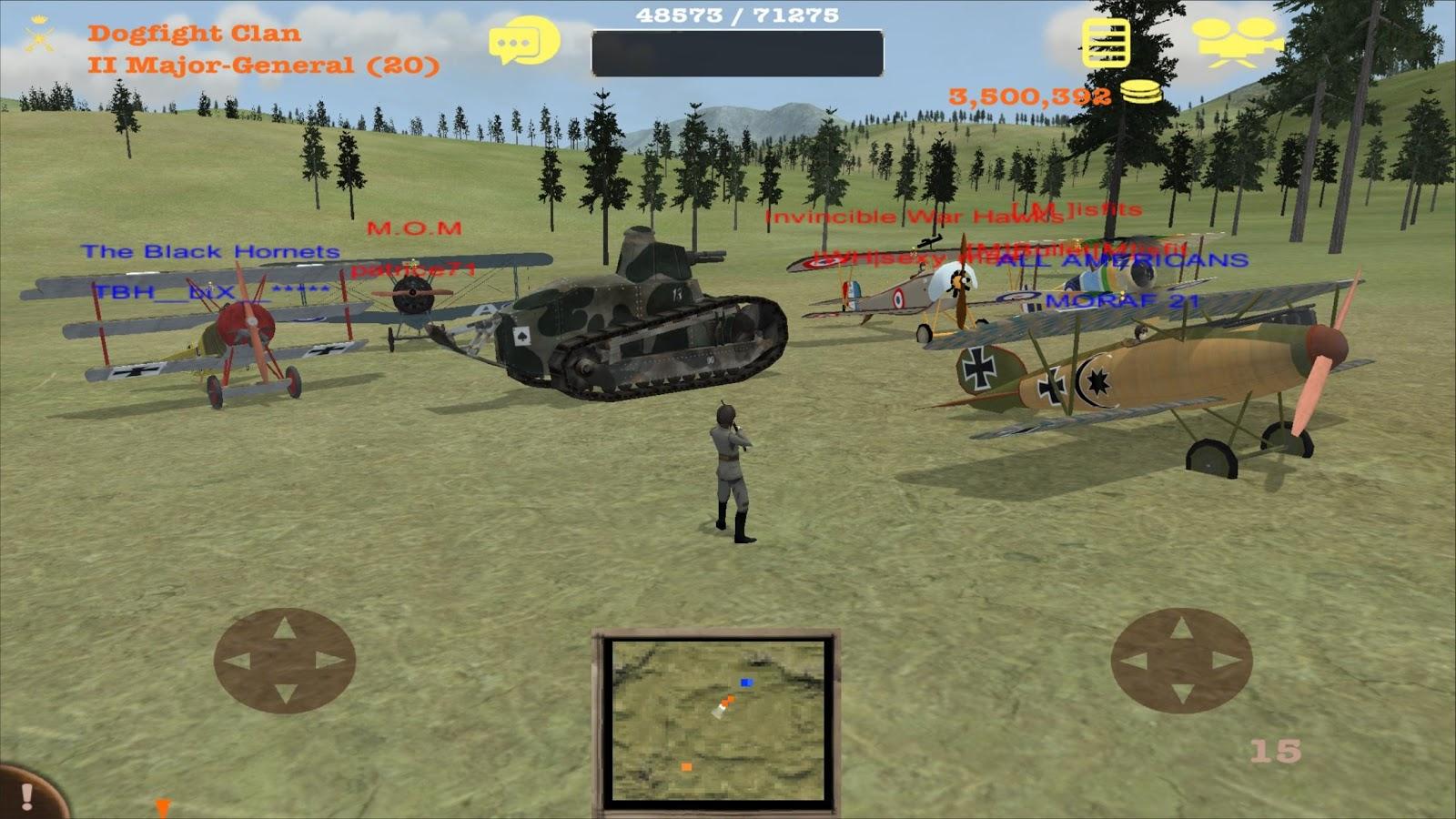 Dogfight- screenshot
