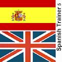 Spanish verb trainer 5 2014 icon