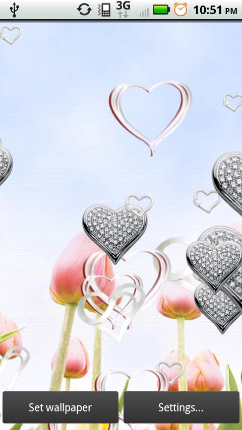 Contemporary Silver Hearts- screenshot