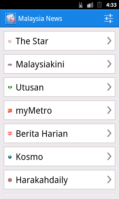 Malaysia News- screenshot