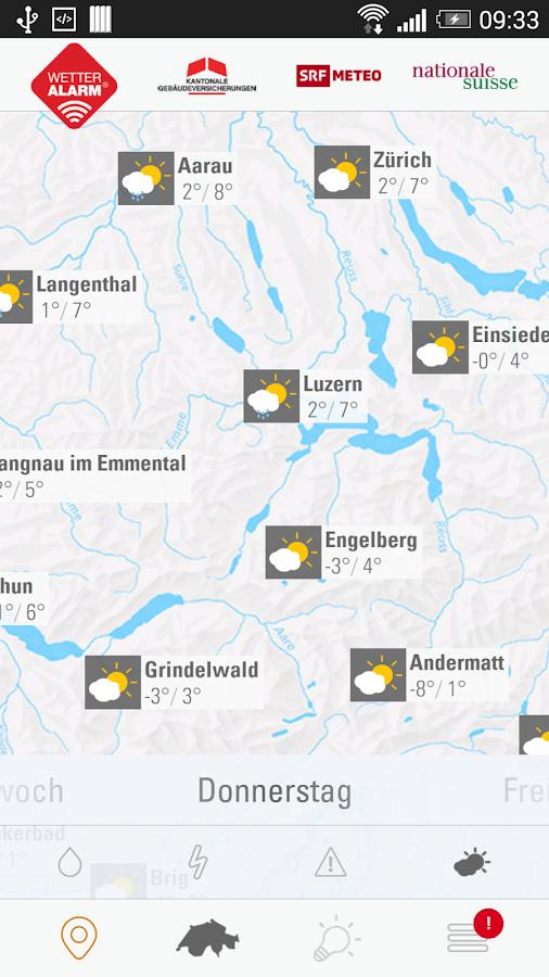 Wetter-Alarm® - screenshot