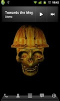 Screenshot of 3D Skulls Live Wallpaper