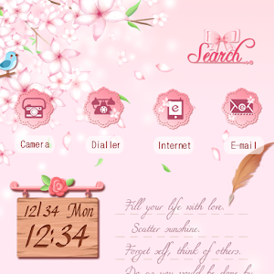 CUKI Theme Cherry Blossoms 娛樂 App LOGO-硬是要APP