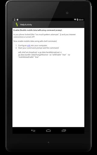 【免費工具App】Mobile Data Remote-APP點子