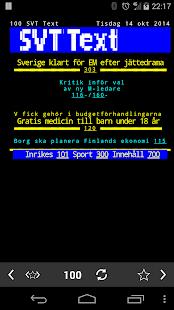 TextTV - screenshot thumbnail
