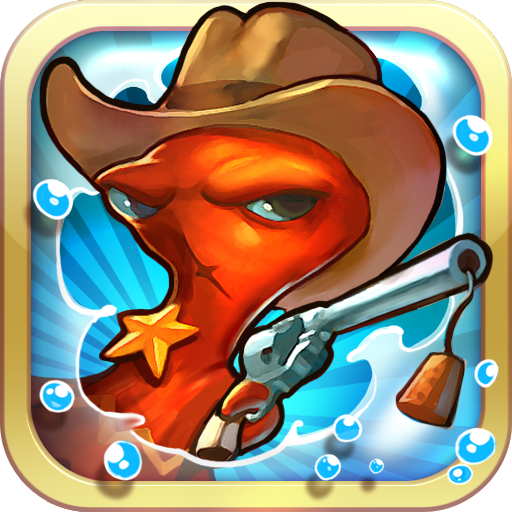 Squids Wild West LOGO-APP點子