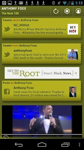 Anthony Foxx: The Root 100 - screenshot thumbnail