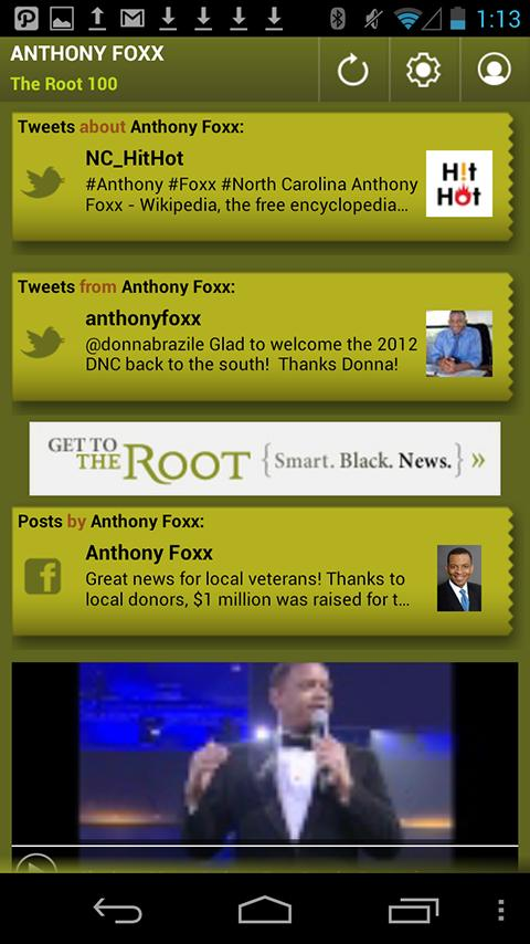 Anthony Foxx: The Root 100 - screenshot