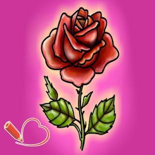 玩教育App|How to Draw a Rose免費|APP試玩