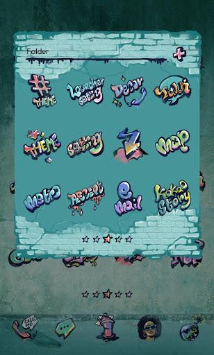 【免費個人化App】Graffiti Dodol Theme-APP點子