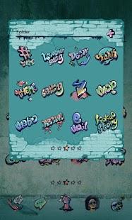 玩個人化App|Graffiti Dodol Theme免費|APP試玩