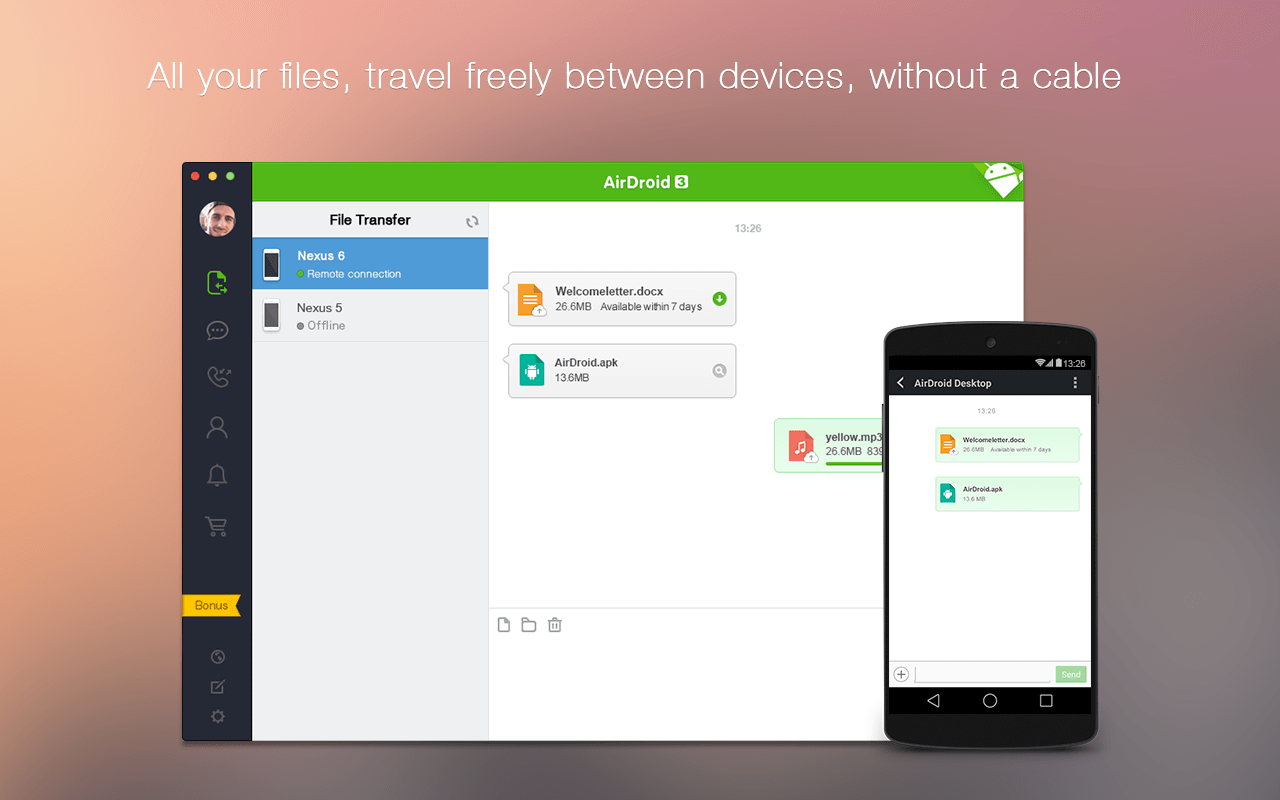 AirDroid: File Sharing & More - screenshot