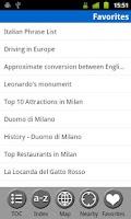Screenshot of Milan, Italy - Guide & Map