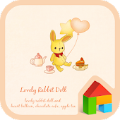lovely rabbit doll dodol theme