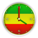 Rasta Clock icon