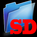 File explorer: SD card folder icon