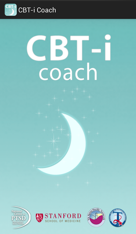 CBT-i Coach - screenshot