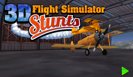 3D Plane Flight Simulator
