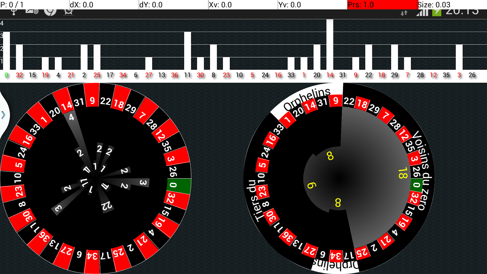 1 in 40 roulette system