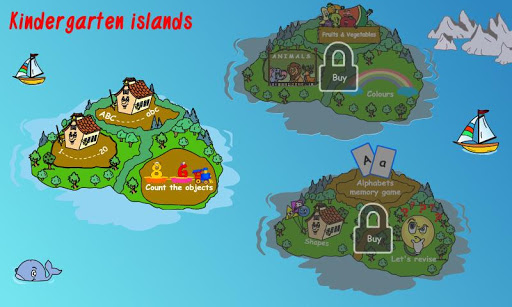 Kindergarten islands-Lite