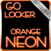 Orange neon GO Locker theme