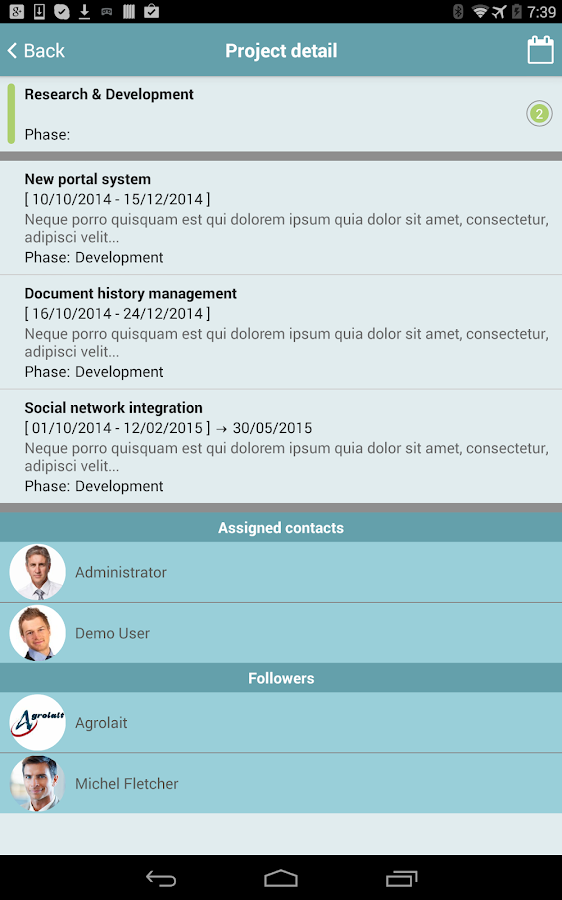 odoo Projects- screenshot